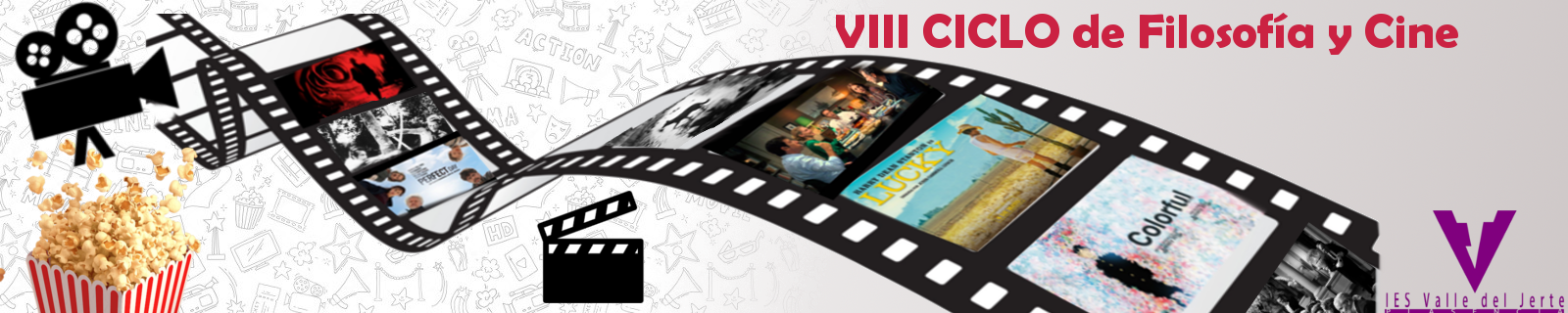 VIII Ciclo de Filosofía y Cine para el curso 2018-2019